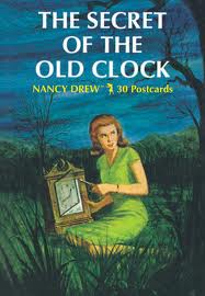 Imagine me writing this one. The ink's drying on the 'd' of The End and… 'Oh shit, there was meant to be a clock in it!'