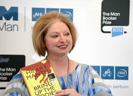 Hilary Mantel avec clothes