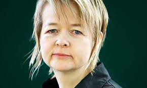 Sarah Waters. On the inside, her blood is curdling.