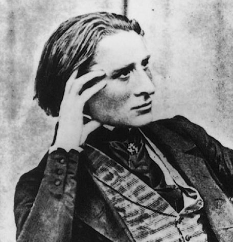 Hungarian composer Franz Liszt (1811–1886). Be honest: you wouldn't kick him out of bed on a cold night.