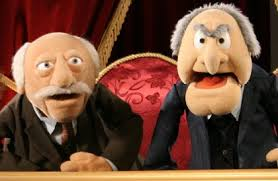 Statler: I hear they're calling this the Medium Blog.  Waldorf: Well it certainly wasn't rare or well done!