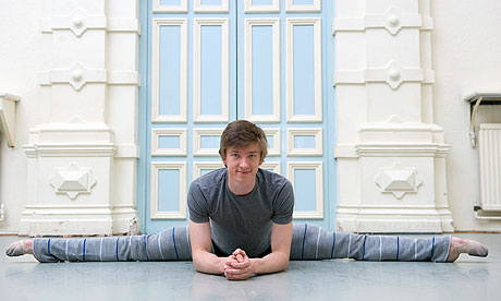 This is not Wayne Eagling; this is ENB dancer Vadim Muntagirov, who is (let's be honest) more fun to look at.
