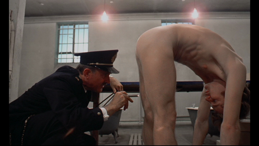 Are not Pics of nudity in clockwork orange