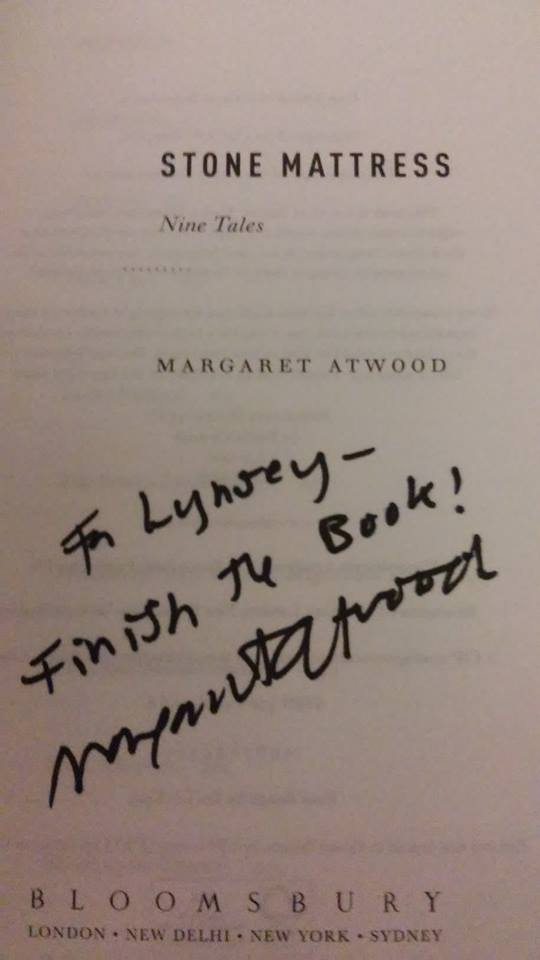margaret atwood essay collection