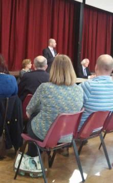 Mr Ian Burchett representing Inspiration Trust. Um, sort of.