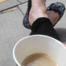 Ah. Tea.