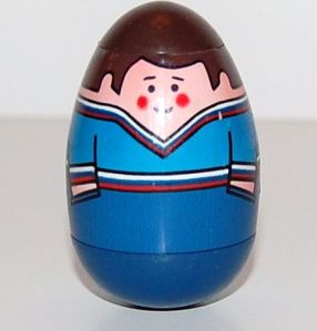 And, once again, if you don't understand the relevance of this picture then you, my friend, are annoyingly young. Image at  http://www.rubylane.com/item/645543-KC-03633/1970s-Weebles-Man-w-Blue-Shirt