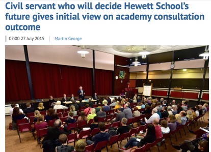 Read more about this balls at http://www.edp24.co.uk/news/education/civil_servant_who_will_decide_hewett_school_s_future_gives_initial_view_on_academy_consultation_outcome_1_4169550